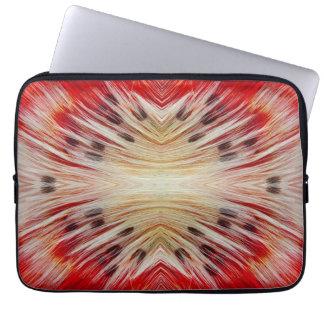 Housse Pour Ordinateur Portable Conception barbue de Barbet de kaléidoscope