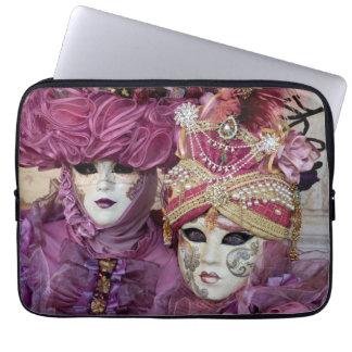 Housse Pour Ordinateur Portable Costume pourpre de carnaval, Venise