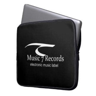 Housse Pour Ordinateur Portable Couche pour Laptops de 15 comptes Noir Music 7