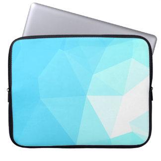 Housse Pour Ordinateur Portable Dessins géométriques élégants et propres - nuages