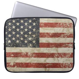 Housse Pour Ordinateur Portable Douille d'ordinateur portable avec le drapeau