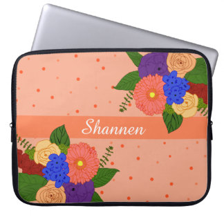Housse Pour Ordinateur Portable Douille d'ordinateur portable de bouquet de fleur
