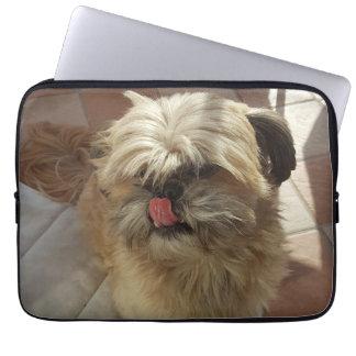 Housse Pour Ordinateur Portable Douille d'ordinateur portable de chien de Shih Tzu