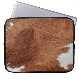 Housse Pour Ordinateur Portable Douille d'ordinateur portable de Flur de vache