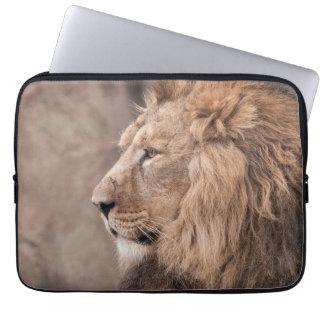 Housse Pour Ordinateur Portable Douille d'ordinateur portable de lion
