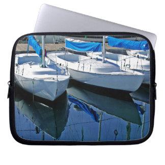 Housse Pour Ordinateur Portable Douille d'ordinateur portable de paysage marin de