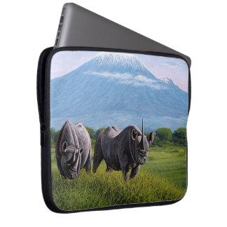 Housse Pour Ordinateur Portable Douille d'ordinateur portable de rhinocéros