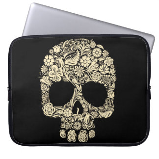 Housse Pour Ordinateur Portable Douille florale d'ordinateur portable du néoprène
