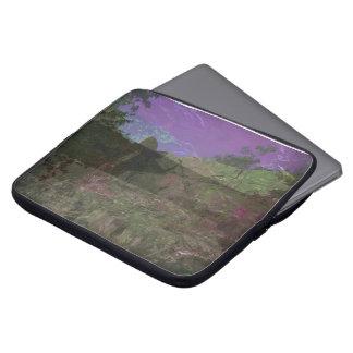 Housse Pour Ordinateur Portable Douille magenta d'ordinateur portable de colline