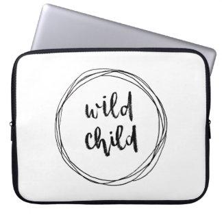 Housse Pour Ordinateur Portable Douille sauvage d'ordinateur portable d'enfant