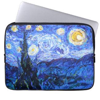 Housse Pour Ordinateur Portable Douille scintillante d'ordinateur portable de nuit
