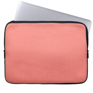Housse Pour Ordinateur Portable Douilles roses de corail d'ordinateur portable