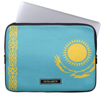 Housse Pour Ordinateur Portable Drapeau de Kazakhstan