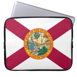 Housse Pour Ordinateur Portable Drapeau de la Floride