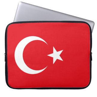 Housse Pour Ordinateur Portable Drapeau de la Turquie
