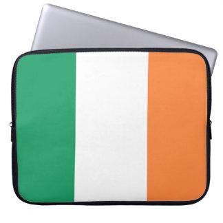 Housse Pour Ordinateur Portable Drapeau de l'Irlande