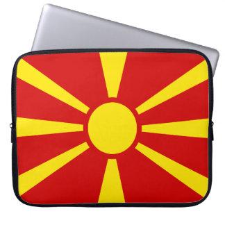 Housse Pour Ordinateur Portable Drapeau de Macédoine