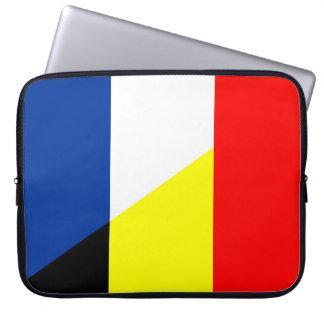 Housse Pour Ordinateur Portable drapeau de symbole de pays de drapeau de la France