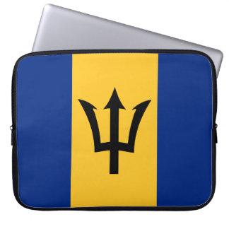 Housse Pour Ordinateur Portable Drapeau des Barbade