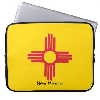 Housse Pour Ordinateur Portable Drapeau du Nouveau Mexique