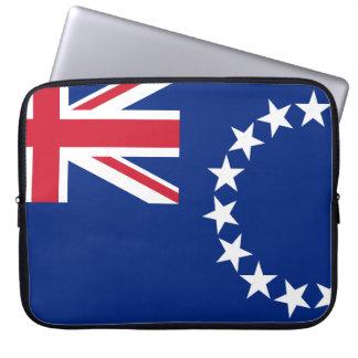 Housse Pour Ordinateur Portable Drapeau national du monde de Cook_Islands