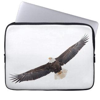 Housse Pour Ordinateur Portable Eagle chauve en vol