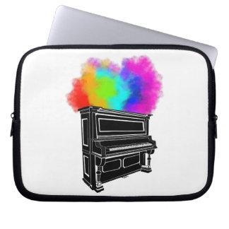 Housse Pour Ordinateur Portable Explosion de piano