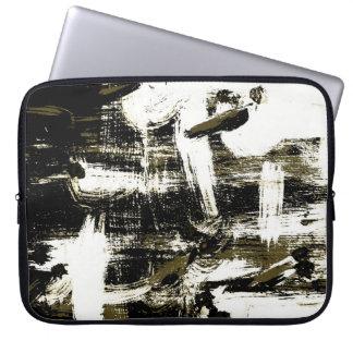 Housse Pour Ordinateur Portable Expression blanche volante d'oiseaux