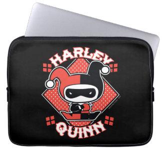 Housse Pour Ordinateur Portable Fentes de Chibi Harley Quinn