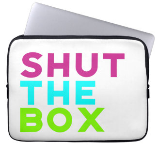 Housse Pour Ordinateur Portable Fermez la valise d'ordinateur portable de boîte