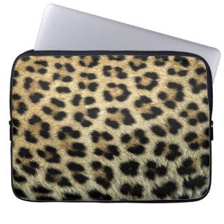 Housse Pour Ordinateur Portable Fermez-vous des taches de léopard, Afrique
