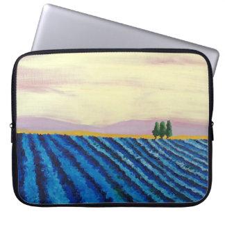Housse Pour Ordinateur Portable Gisement de lavande (paysage français) - art de