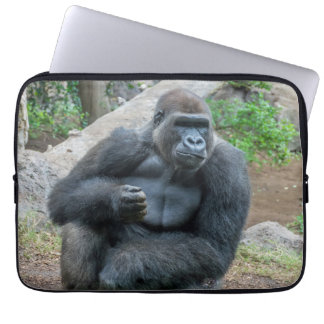 Housse Pour Ordinateur Portable Gorille à la douille d'ordinateur portable de zoo