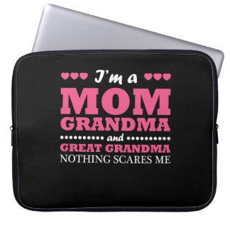 Housse Pour Ordinateur Portable Im grand-maman de maman et grande chemise de
