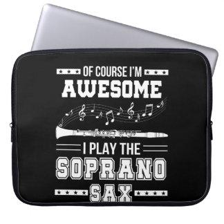 Housse Pour Ordinateur Portable Im jeu impressionnant d'I le saxophone de soprano