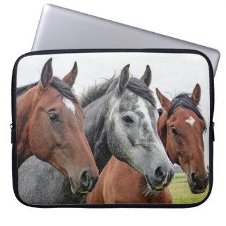 Housse Pour Ordinateur Portable Image des chevaux
