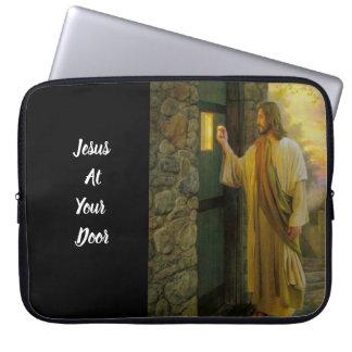 Housse Pour Ordinateur Portable Jésus à votre cru de porte