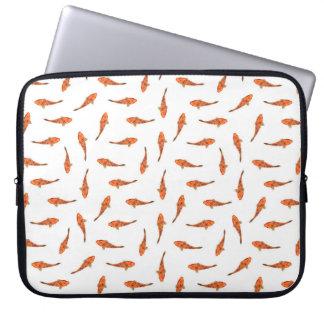 Housse Pour Ordinateur Portable Koi pêche le motif de motif