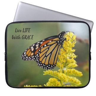 Housse Pour Ordinateur Portable La vie vivante avec la douille d'ordinateur