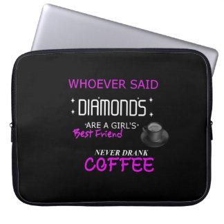 Housse Pour Ordinateur Portable Le café est ma douille d'ordinateur portable du