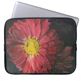 Housse Pour Ordinateur Portable Les fleurs ordinateur portable sleeves rouges