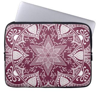 Housse Pour Ordinateur Portable Mandala de mûre