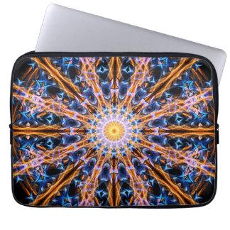 Housse Pour Ordinateur Portable Mandala d'étoile d'alchimie