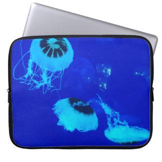 Housse Pour Ordinateur Portable Méduses au Mexique (bleu)