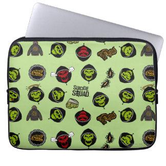 Housse Pour Ordinateur Portable Motif de Croc Emoji de tueur du peloton | de