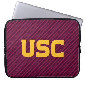 Housse Pour Ordinateur Portable Motif de fibre des Trojan | d'USC