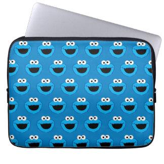 Housse Pour Ordinateur Portable Motif de sourire de monstre de biscuit