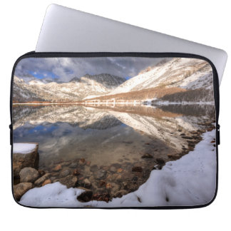 Housse Pour Ordinateur Portable Neige au lac du nord, la Californie