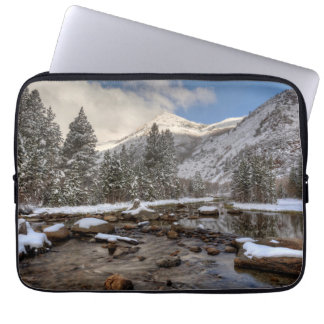 Housse Pour Ordinateur Portable Neige de ressort, sierra Nevada, CA