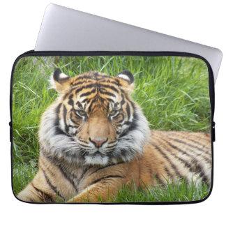 Housse Pour Ordinateur Portable Ordinateur portable de photo de tigre de Sumatran